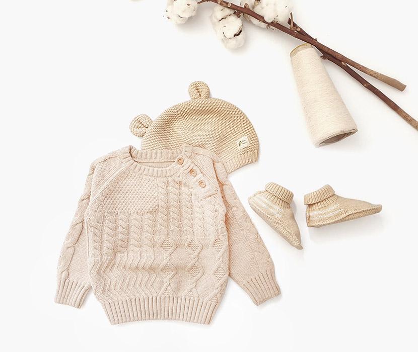 마루 니트 스웨터 티셔츠&베이직 스웨터 신발&니트 쁘띠 미뇽 모자