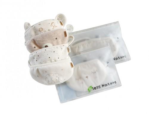 오가닉 유아 끈조절 마스크