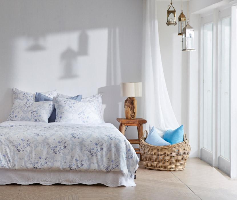 Blue Blossom MOC Modal Bedding